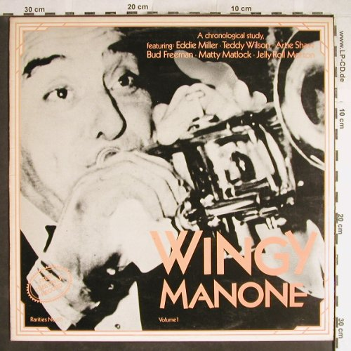 Manone,Wingy: Volume 1, m-/vg+, woc, Rarities(66), UK,  - LP - H6768 - 6,00 Euro