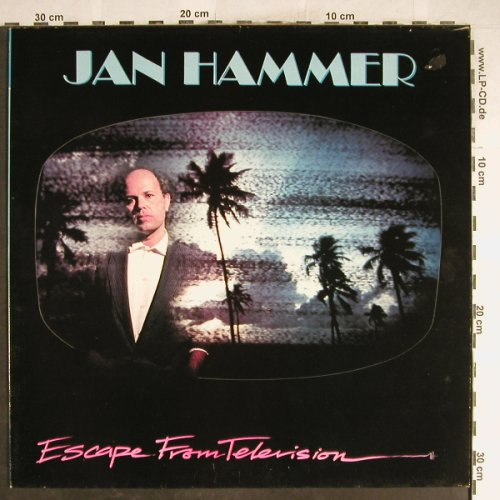 Hammer,Jan: Escape From Television, MCA(MCF 3407), UK, 1987 - LP - H6792 - 5,50 Euro