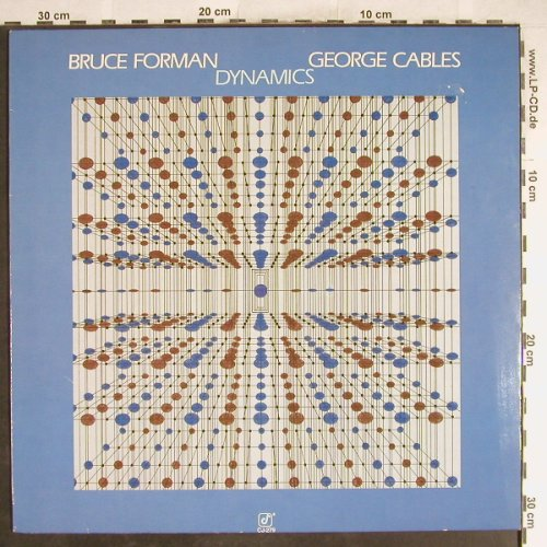 Forman,Bruce & George Cables: Dynamics(piano&guitar), Concord(CJ-279), D, 1985 - LP - H6799 - 7,50 Euro