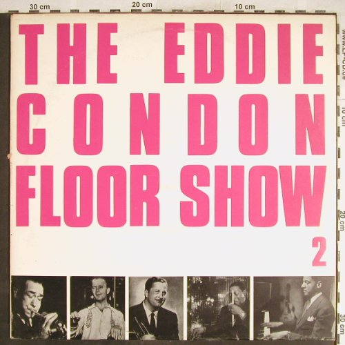 Condon,Eddie: The E.C. Floor Show 2, vg+/vg+, Queen-Disc(Q-031), I,  - LP - H6863 - 3,00 Euro