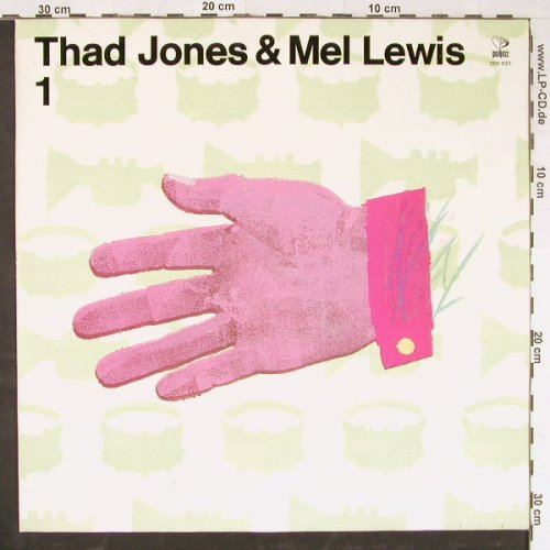 Jones,Thad & Mel Lewis: 1, Poljazz(ZSX 637), PL, 1976 - LP - H6882 - 6,00 Euro