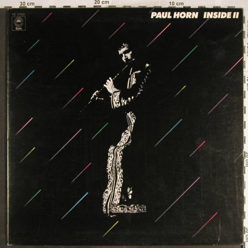 Horn,Paul: Inside II, Foc, Epic(KE 31600), CDN, 1972 - LP - H6901 - 12,50 Euro