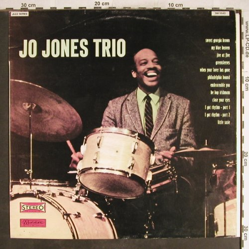 Jones Trio,Jo: Same, Musidisc(SM 3540), I, 1973 - LP - H6902 - 6,00 Euro