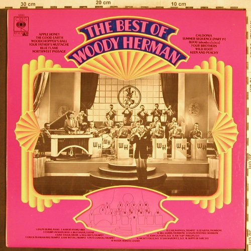 Herman,Woody: The Best Of, vg+/m-, CBS(RM 52551), UK, Mono,  - LP - H6908 - 5,00 Euro