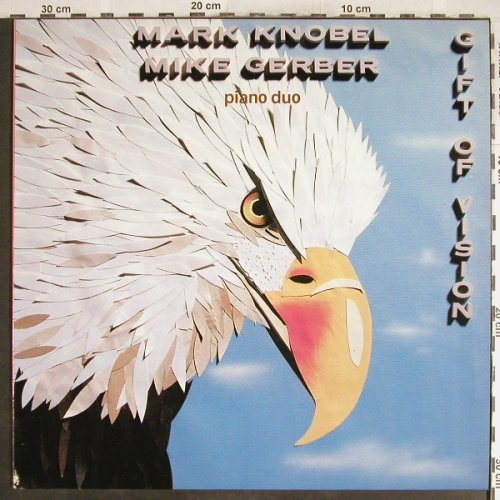Knobel,Mark / Mike Gerber: Piano duo,Gift of Vision, Optimism(HR-2701), D, 1987 - LP - H6914 - 6,00 Euro