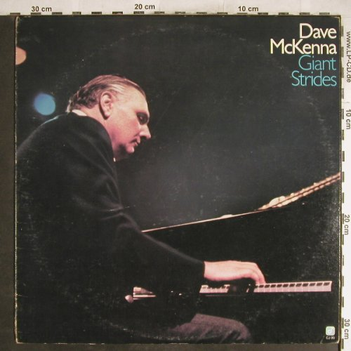 Mc Kenna,Dave: Giant Strides, m-/vg+, Concord(CJ-99), US, 1979 - LP - H6926 - 6,00 Euro