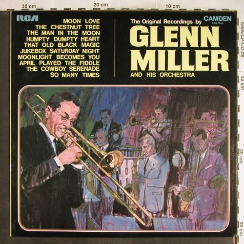 Miller,Glenn & His Orch.: The Original Recordings By, RCA/Camden(CDS 1040), UK,Ri, 1969 - LP - H6935 - 5,00 Euro