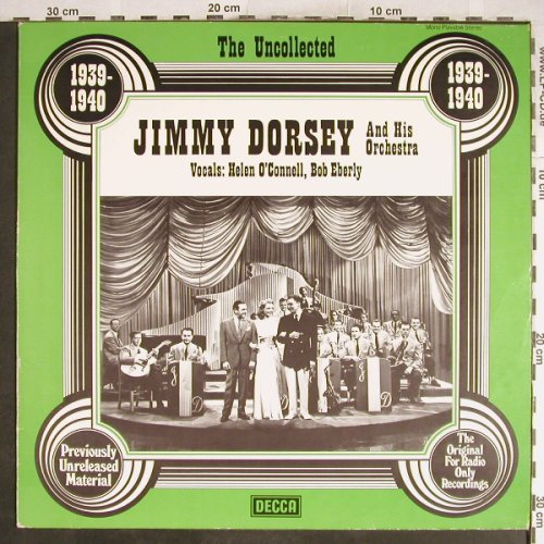 Dorsey,Jimmy & his Orch.: The Uncoll.Helen O'Connell,B.Eberly, Decca(6.23550 AG), D,1939-40,  - LP - H6946 - 6,00 Euro