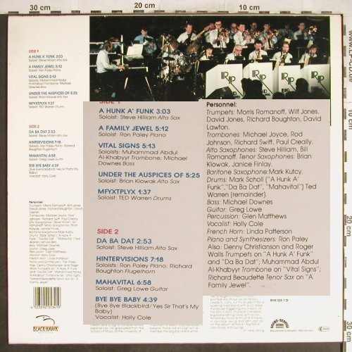 Paley,Ron: Big Band Jazz Rocks and Swing, Black-Hawk(BHK534-1 D), D, 1987 - LP - H6951 - 5,50 Euro