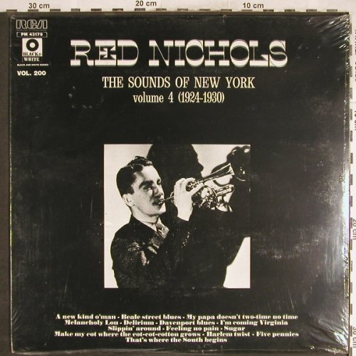 Nichols,Red: The Sounds Of N.Y.Vol.4(1924-30), RCA, Vol.200(PM 43179), F, FS-New,  - LP - H6955 - 7,50 Euro