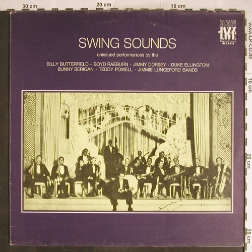 V.A.Swing Sounds: Billy Butterfield...Jimmy Lunceford, Cicala(BLJ 8016), I, 1976 - LP - H6989 - 5,00 Euro