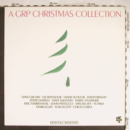 V.A.A GRP Christmas Collection: Daryl Stuermer..Dave Grusin,12 Tr., GRP(GR-9574), D, 1988 - LP - H6994 - 4,00 Euro