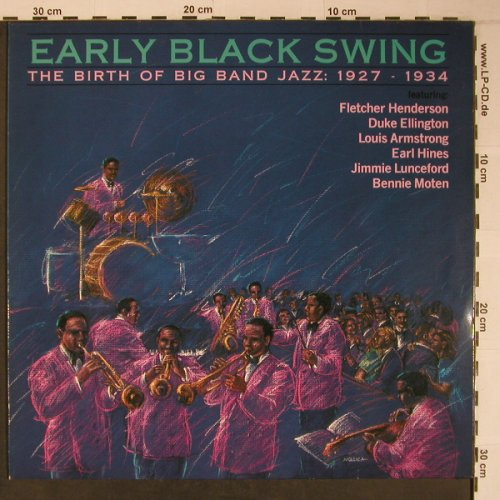 V.A.Early Black Swing 1927-34: Fletcher Henderson...Armstrong, RCA(), D, 1989 - LP - H7007 - 5,50 Euro