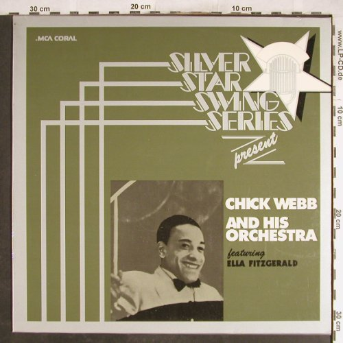 Webb,Chick & his Orch.: Siler Star SwingSeries,f.Fitzgerald, MCA(6.22244 AK), D, 1975 - LP - H7033 - 6,00 Euro