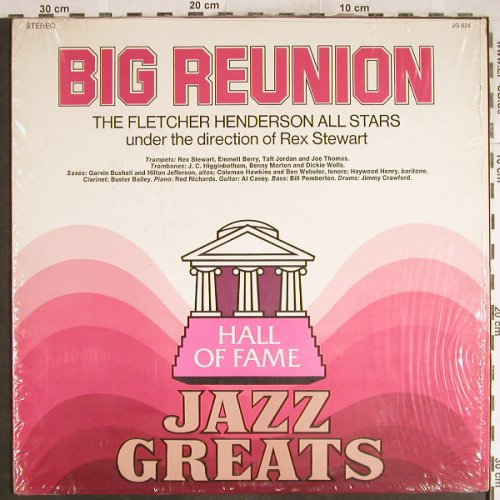 Fletcher Henderson All Stars: Big Reunion, Rex Stewart, Hall of Fame(JG-624), US,  - LP - H7060 - 7,50 Euro