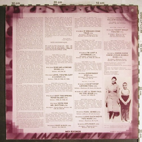 Webb,Chick  with Ella Fitzgerald: Princess of the Savoy,1936-1939, MCA(510.119), F,m-/vg+,  - LP - H7101 - 5,50 Euro