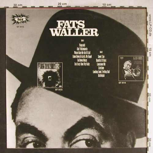 Waller,Fats: Ain't Misbehavin, HIT(ST 5113), D,  - LP - H7109 - 5,00 Euro