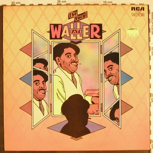 Waller,Fats: The Vocal, vg+/vg+, RCA(LSA-3112), UK, 1972 - LP - H7233 - 3,00 Euro