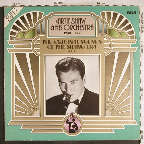 Shaw,Artie & His Orchestra: The Orign.Sounds o.t.SwingEra Vol.7, RCA International(CL 05517), D,m-/vg+, 1976 - LP - H7251 - 6,00 Euro