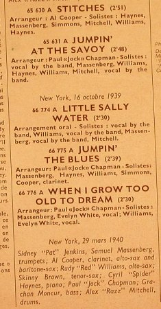 Cooper,Al  Savoy Sultans: Jumpin'at the Savoy, 1938-1940, MCA(MCA 510.083), F,  - LP - H7252 - 6,00 Euro