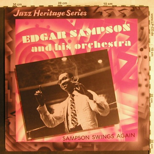 Sampson,Edgar  and his Orchestra: Sampson Swings Again, MCA(MCA-1354), US, 1982 - LP - H7255 - 7,50 Euro