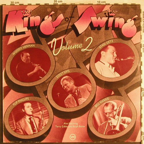 V.A.Kings of Swing Vol.2: Woody Herman,Getz,Flip Philips..., Verve(2683 067), UK,Foc,  - 2LP - H7263 - 7,50 Euro