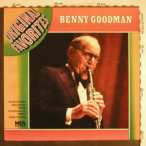 Goodman,Benny: Original Favorites, MCA(202 939-241), D, Ri,  - LP - H7326 - 5,00 Euro