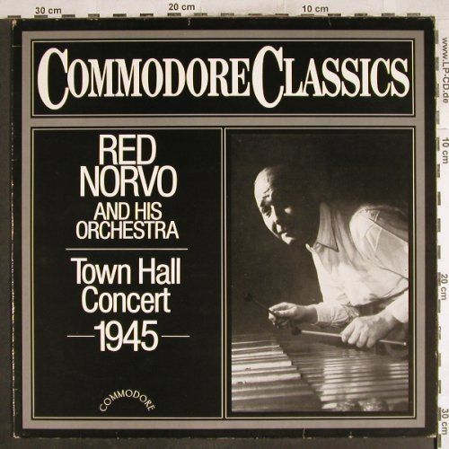 Norvo,Red  and his Orchestra: Town Hall Concert 1945, m-/vg+, Commodore(6.26168 AG), D, 1985 - LP - H7445 - 6,50 Euro