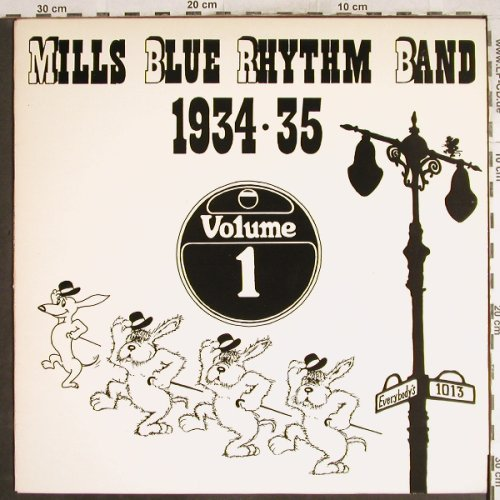 Mills Blue Rhythm Band: 1934-35 Vol.1, vg+/vg+, Everybody(e-1013), S,  - LP - H7456 - 5,00 Euro
