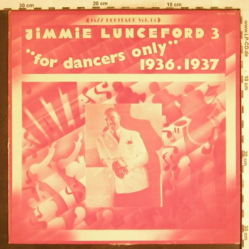 Lunceford,Jimmie: 3 -For dancers only,1936-37,m-/vg+, MCA(510.032), F,  - LP - H7466 - 5,00 Euro