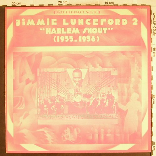 Lunceford,Jimmie: 2 -Harlem Shout,1933-36,m-/vg+, MCA(510.018), F,  - LP - H7467 - 5,00 Euro