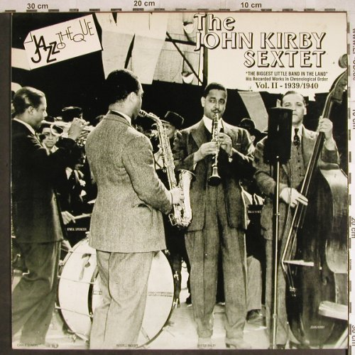 Kirby,John  Sextet: The Biggest Little Big Band...Vol.2, CBS, 1939-1940(CBS 450183 1), NL, 1986 - LP - H7688 - 6,00 Euro