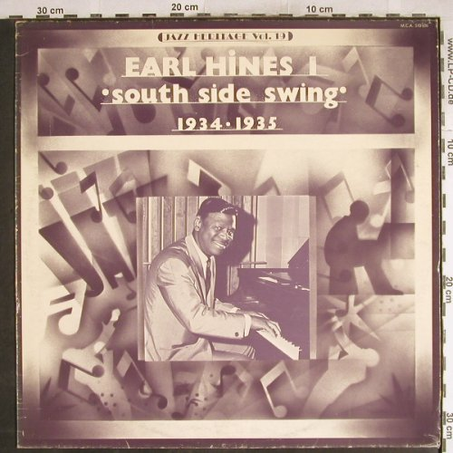 Hines,Earl: South Side Swing,1934-1935, m-/vg+, MCA(510.036), F,Ri,  - LP - H7723 - 4,00 Euro