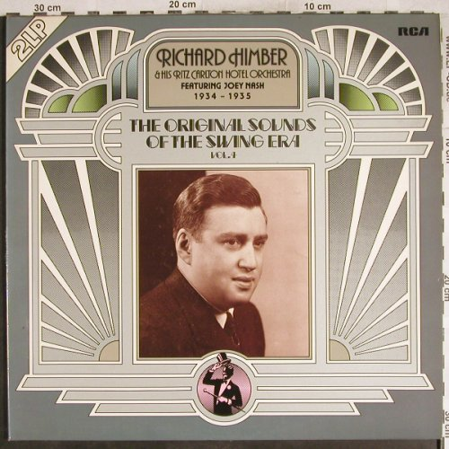 Himber,Richard & h.Ritz CarltonH.O.: The Original Sound o.t.Swing Era 4, RCA,Musterplatten1+2oneS(26.28132 DP), D,m-/VG+, 1976 - 2LP - H7725 - 9,00 Euro