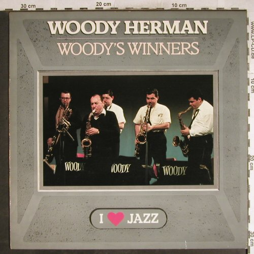 Herman,Woody: Woody's Winners(I Love Jazz), CBS(CBS 21 110), NL,  - LP - H7726 - 5,00 Euro