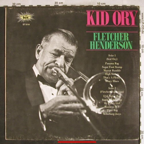 Kid Ory / Fletcher Henderson: Same, m-/vg+, Hit(ST 5114), D,  - LP - H7753 - 5,00 Euro