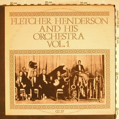 Henderson,Fletcher  and h.Orch.: Same, Vol.1, Muster-Stol,, m-/vg+, Collector's Classics(CC 27), UK,  - LP - H7756 - 4,00 Euro