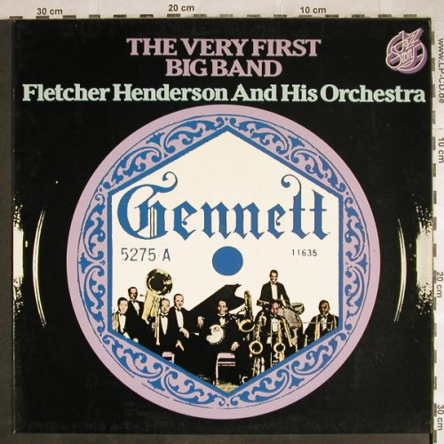 Henderson,Fletcher  and h.Orch.: The Very First Big Band, Jazz Story(40.009), D, 1976 - LP - H7872 - 5,00 Euro
