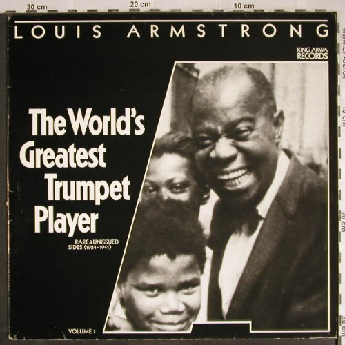 Armstrong,Louis: The World's Greatest TrumpetPlayer1, King Akwa Record(00851), D, m-/vg+, 1985 - LP - H7873 - 6,00 Euro