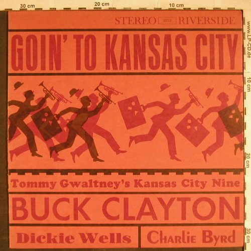 Gwaltney,Tommy - Kansas City Nine: Gion' to Kansas City, Riverside(RLP 9353), US,  - LP - H7884 - 7,50 Euro