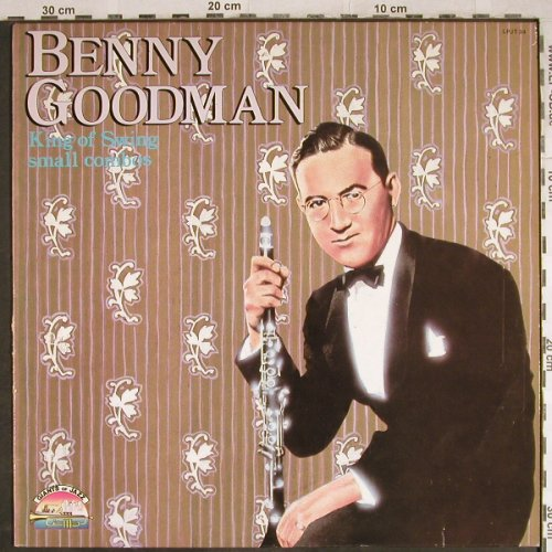 Goodman,Benny: King of Swing-Small Combos, Giants Of Jazz(LPJT 34), I, m-/vg+,  - LP - H7887 - 5,50 Euro