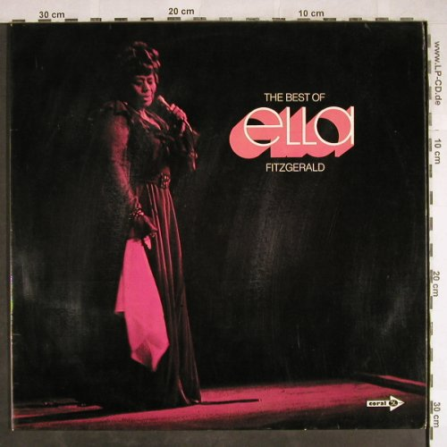 Fitzgerald,Ella: The Best Of, Foc, Coral(82.023-2), D,Ri, 1973 - 2LP - H7900 - 9,00 Euro