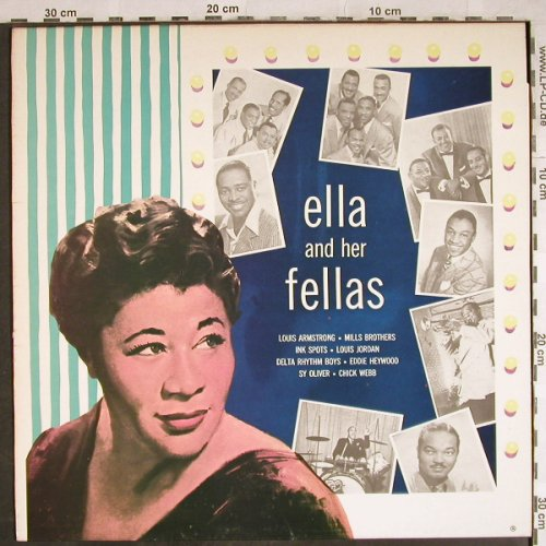 Fitzgerald,Ella: Ella and her Fellas, MCA(MCL 1705), D,  - LP - H7903 - 7,50 Euro