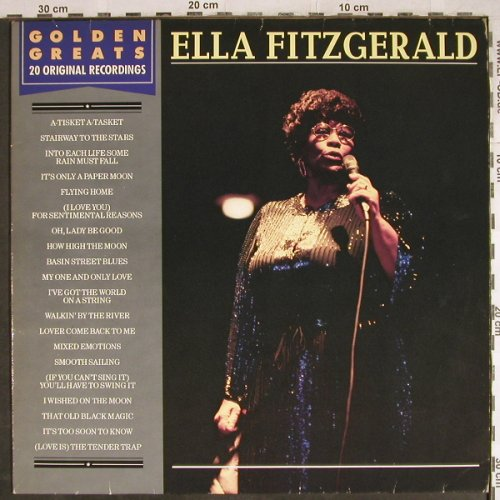 Fitzgerald,Ella: Golden Greats,20Original Recordings, MCA(252 703-1), D, 1985 - LP - H7904 - 7,50 Euro