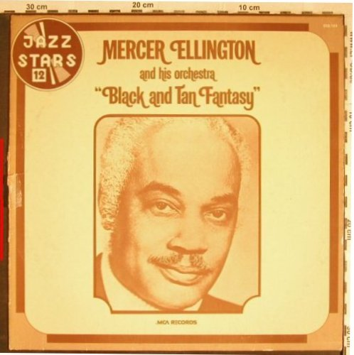Ellington,Mercer  and his Orchestra: Black and Tan Fantasy, vg+/VG-, MCA(MCA 510.124), F, 1973 - LP - H7906 - 4,00 Euro