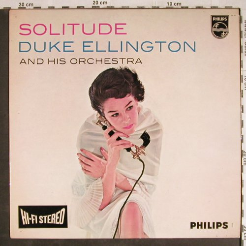 Ellington,Duke: Solitude,(Ozzie Bailey) vg+/vg+, Philips(840 017 BY), NL,  - LP - H7908 - 9,00 Euro