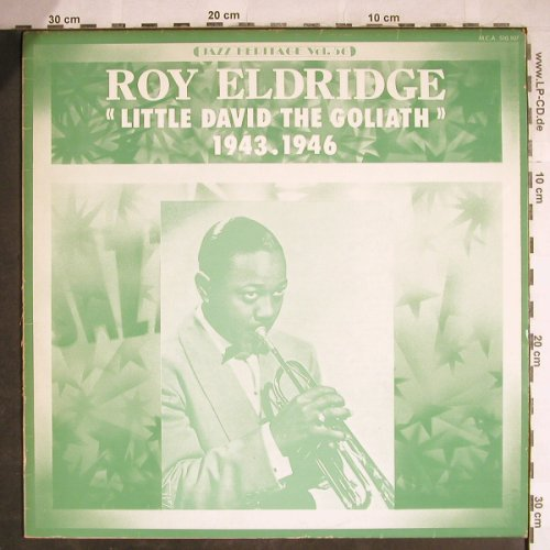 Eldridge,Roy: Little David the Goliath,1943-1946, MCA(MCA 510.107), F, m-/VG+, 1974 - LP - H7932 - 7,50 Euro