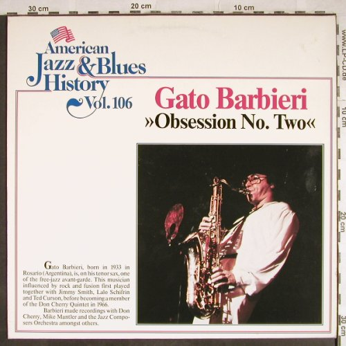 Barbieri,Gato: Obsession No.Two, Tobacco Road(B/2606), D, Ri,  - LP - H8088 - 7,50 Euro