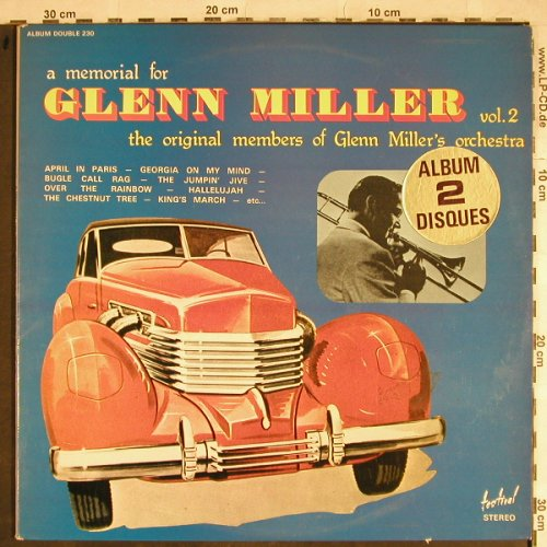 Miller,Glenn: A Memorial for, Vol.2, Foc, Festival(230), F,  - 2LP - H8426 - 7,50 Euro