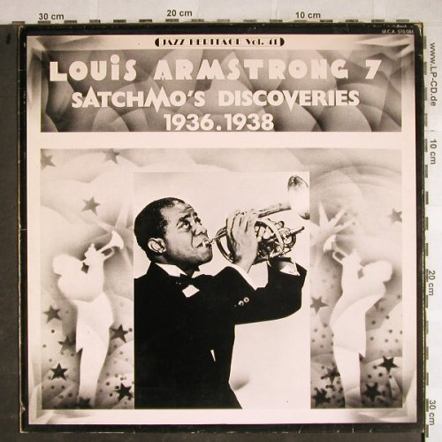 Armstrong,Louis: Satchmo Discoveries, 1936-38 (7), MCA(MCA 510.084), F,  - LP - H8489 - 6,00 Euro